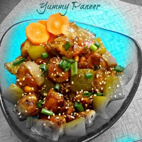 Photo of Honey Sesame Paneer by Chaitra Dev at BetterButter