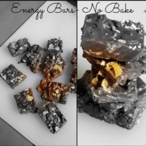How to make Energy Bars- No Bake