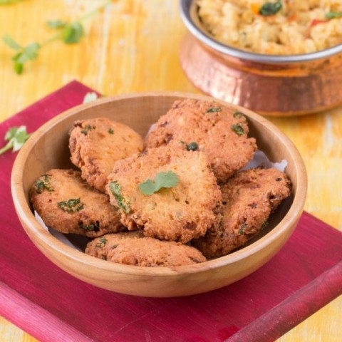 How to make Soya Beans Vadai (Deep Fried Fritters)