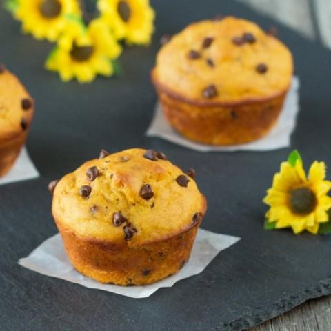 Photo of Mango Chocolate Muffin by Vardhini Koushik at BetterButter