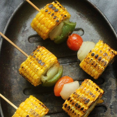 Photo of Vegetarian Kebabs/ Corn On The Cob by Shweta Agrawal at BetterButter