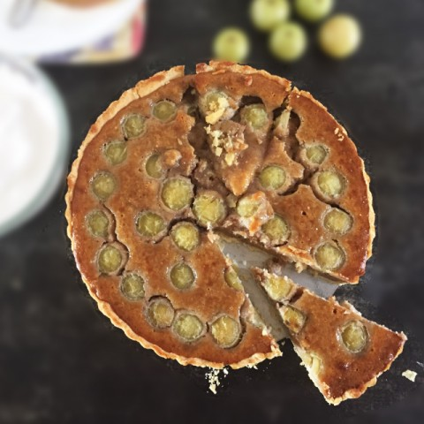Photo of Gooseberry (Amla), Almond and Honey Tart by Vijetha Rangabashyam at BetterButter