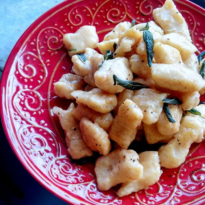 Photo of Pumpkin Gnocchi with Brown Butter and Crispy Sage by Shanti Petiwala at BetterButter