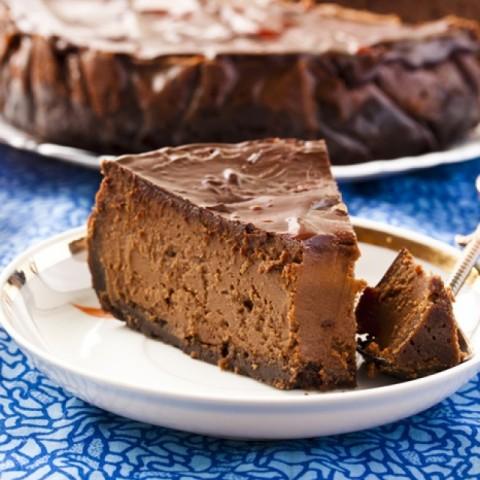 Photo of Chocolate cheescake by Sujata Limbu at BetterButter