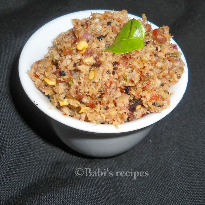 How to make Dried maldive fish recipe | Maasi chambal