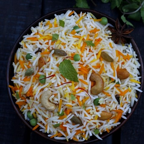 Photo of Orange scented Dry fruits Shahi Pulao by Sanjeeta KK at BetterButter