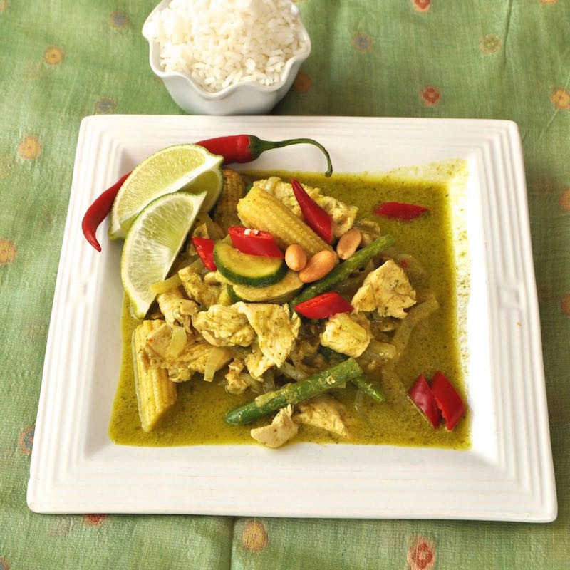 Photo of Thai Green Curry Chicken by Smita Chandra at BetterButter