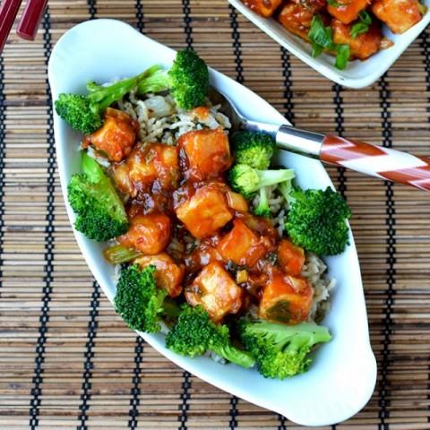 Photo of General Tso's Tofu by Pavani Nandula at BetterButter