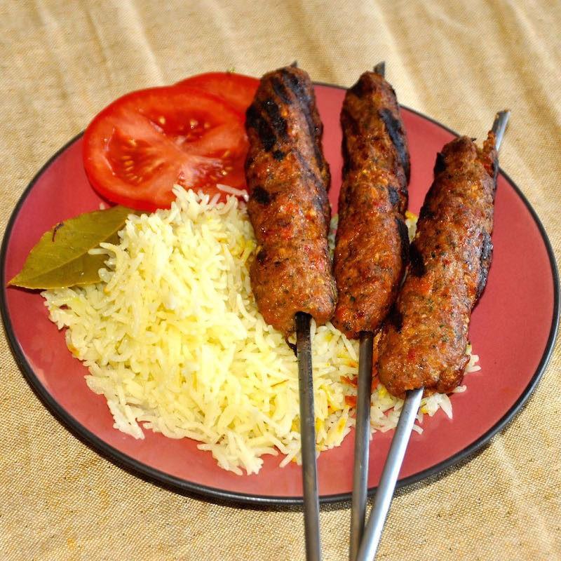 How to make Lamb kababs with feta cheese and herbs