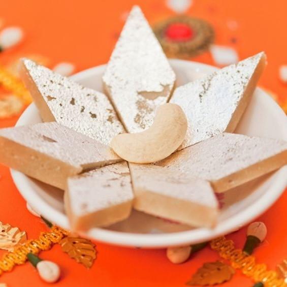 How to make Kaju katli(kaju ki barfi)