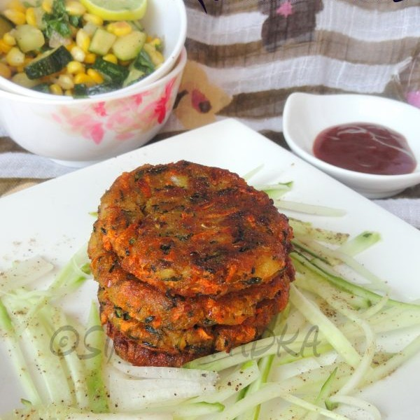Photo of Zucchini Cakes by Preeti Garg at BetterButter