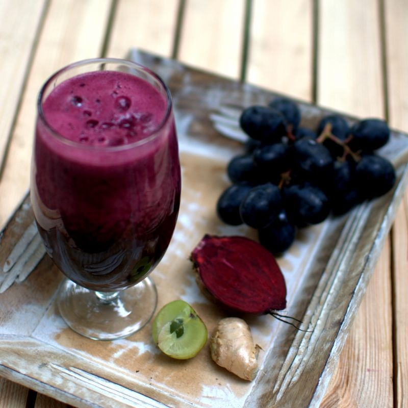 Photo of beetroot smoothie by sangeeta khanna at BetterButter