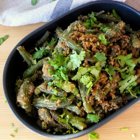Photo of Punjabi Green Beans Fry by Dhanya Samuel at BetterButter