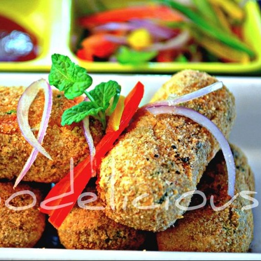 Photo of Baked Couscous and Cottage Cheese Rolls by Pari Vasisht at BetterButter