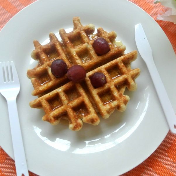 Photo of Apple Millet Waffles by Praba Bubesh at BetterButter