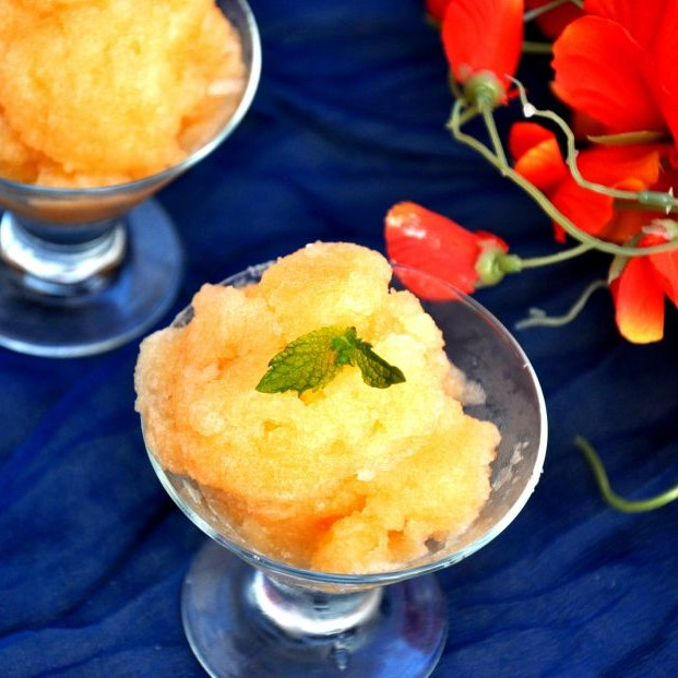 Photo of Cantaloupe Sorbet by Praba Bubesh at BetterButter