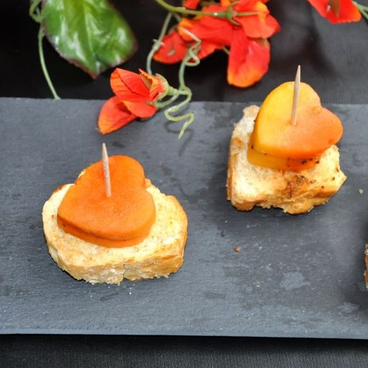 How to make Papaya Canapes