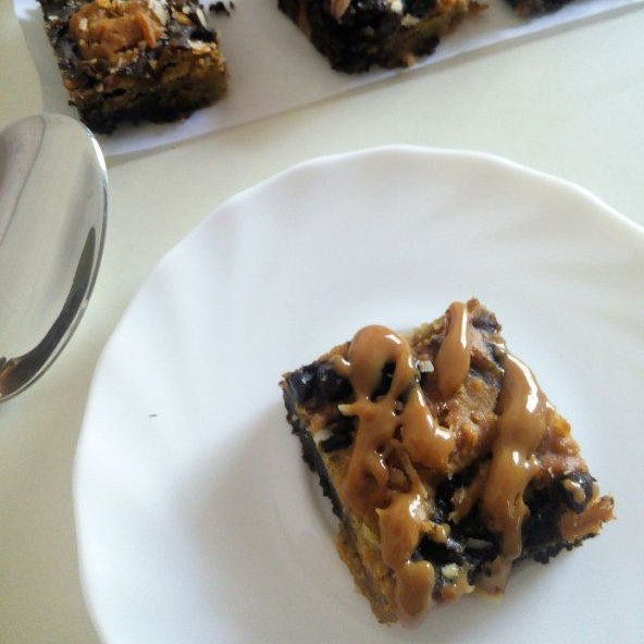 How to make Gluten Free Healthy Blondies