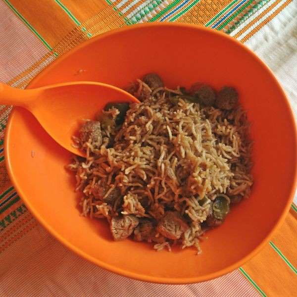 Photo of Quick and Tasty Chilli Soya Rice by Raina Talukder at BetterButter