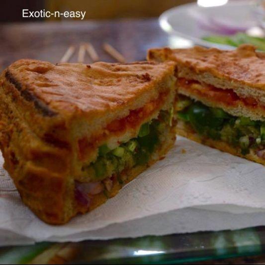 Photo of Triple Sandwich Bread Pakora by Meera Girdhar at BetterButter