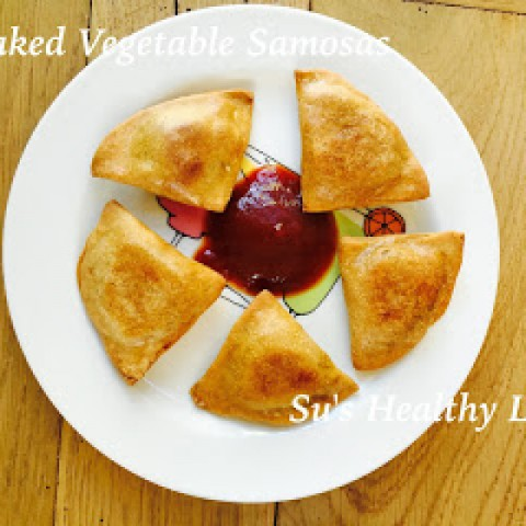 Photo of Baked Vegetable Samosas by Suchitra Kamath at BetterButter