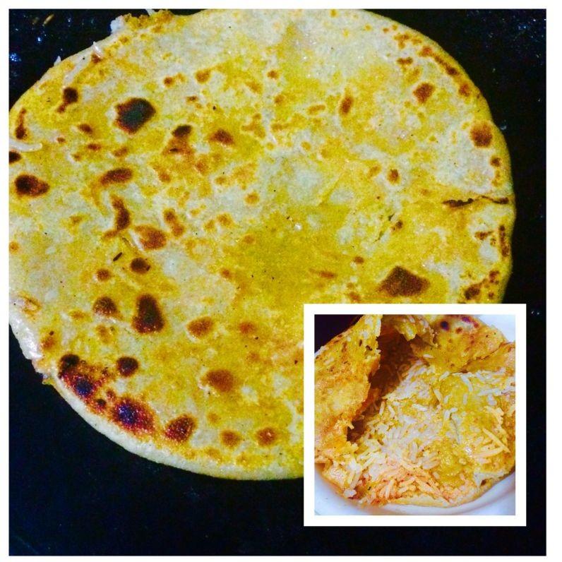 Photo of Rice paratha by Rina Khanchandani at BetterButter