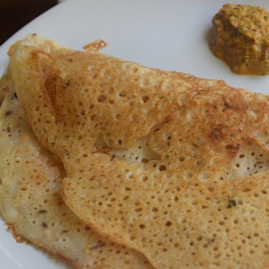 How to make Oats and Wheat Flour Dosa