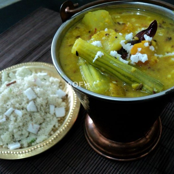 Photo of Chuda Ghasa - Dalma ( Powdered beaten rice with Dal curry ) by sweta biswal at BetterButter