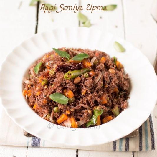 Photo of Very Healthy Ragi Semiya Vegetable Upma by Jyothi Rajesh at BetterButter