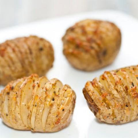 How to make Mini Hasselback Potatoes