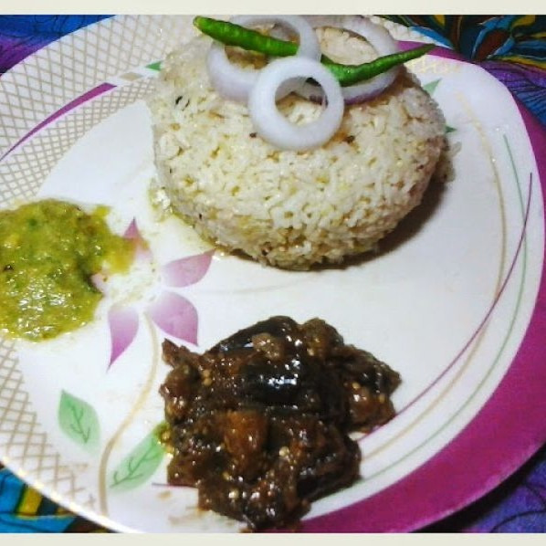 How to make Bottle gourd rice tadka