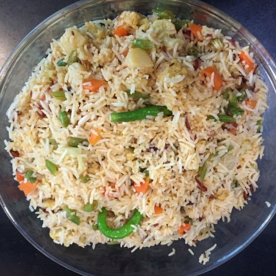 How to make Vegetable pulao