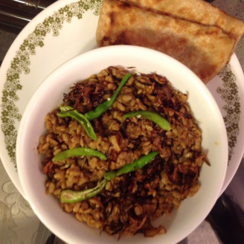 How to make Keema with Urad dal