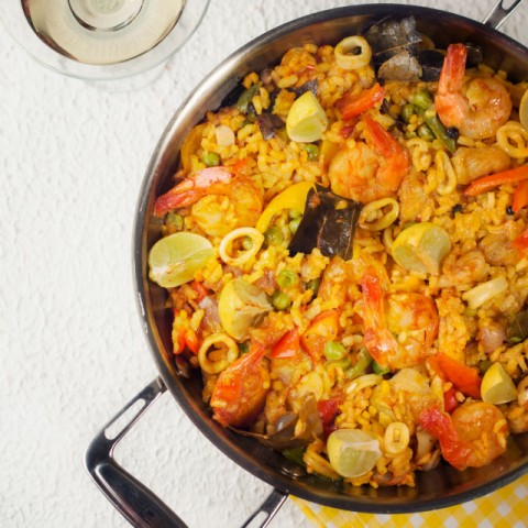 Photo of Seafood Paella by Sabyasachi Gorai at BetterButter