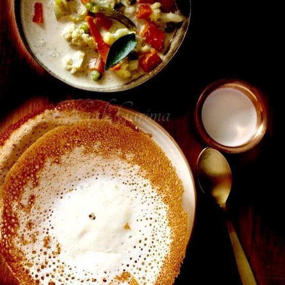 How to make Kerala Appam or Palappam