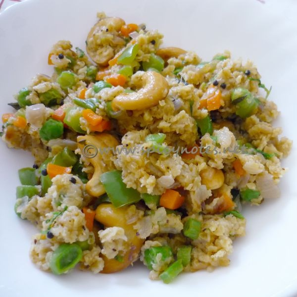 Photo of Oats Upma by Preeti Alam at BetterButter