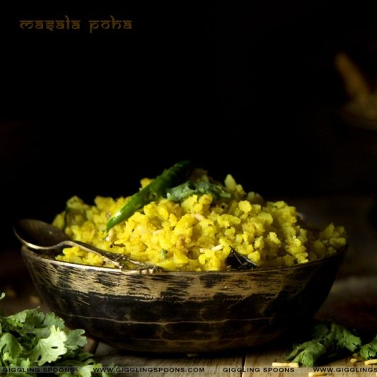 Photo of Masala Poha by Priyanka Mukherjee at BetterButter