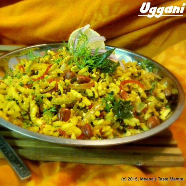 Photo of Uggani | Tossed Puffed Rice - A delicious Breakfast | Snack Option! by Meena C R at BetterButter