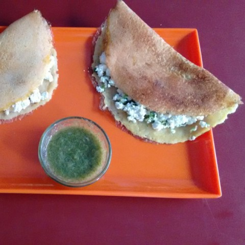 Photo of Stuffed moong daal chilla by Seema Manishkrishna at BetterButter