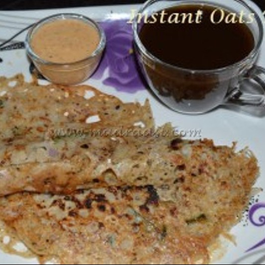 Photo of Instant Oats Dosa by Madraasi Deepa at BetterButter