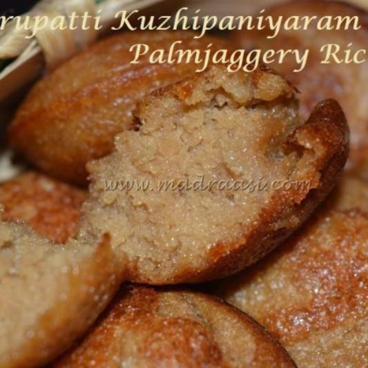 Photo of Karupatti (Palm Jaggery) Kuzhipaniyaram by Madraasi Deepa at BetterButter