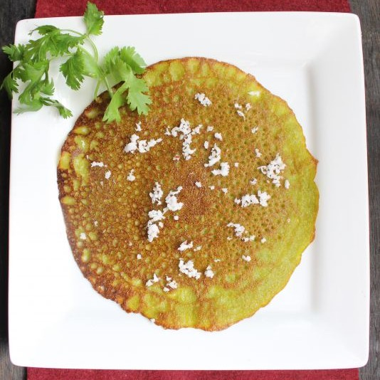 Photo of Dill Leaves Pancake | Shepeche Polle by Raksha Kamat at BetterButter