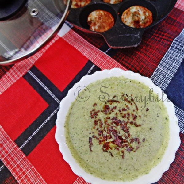 How to make Masala Appe / Paniyaram
