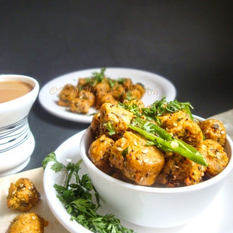 Photo of Oats Carrot Muthia(Steamed Oats Carrot Dumplings) by Ash Nayak at BetterButter