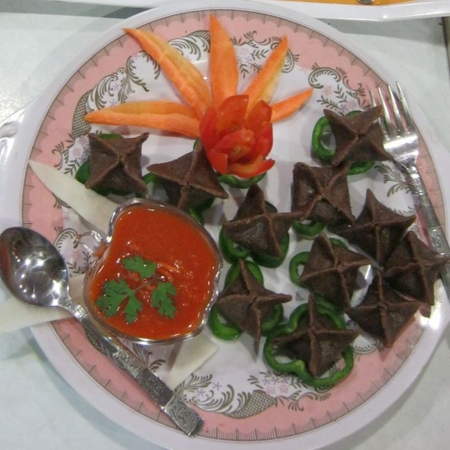 Photo of Momos of Singhada flour by NANDINI DIWAKAR at BetterButter