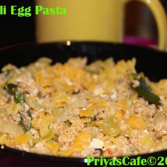 How to make Fusilli Egg Pasta
