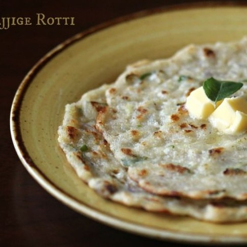 Photo of Sajjige Rotti / Rulavachi Bhakri (Semolina Pancake) by Shireen Sequeira at BetterButter