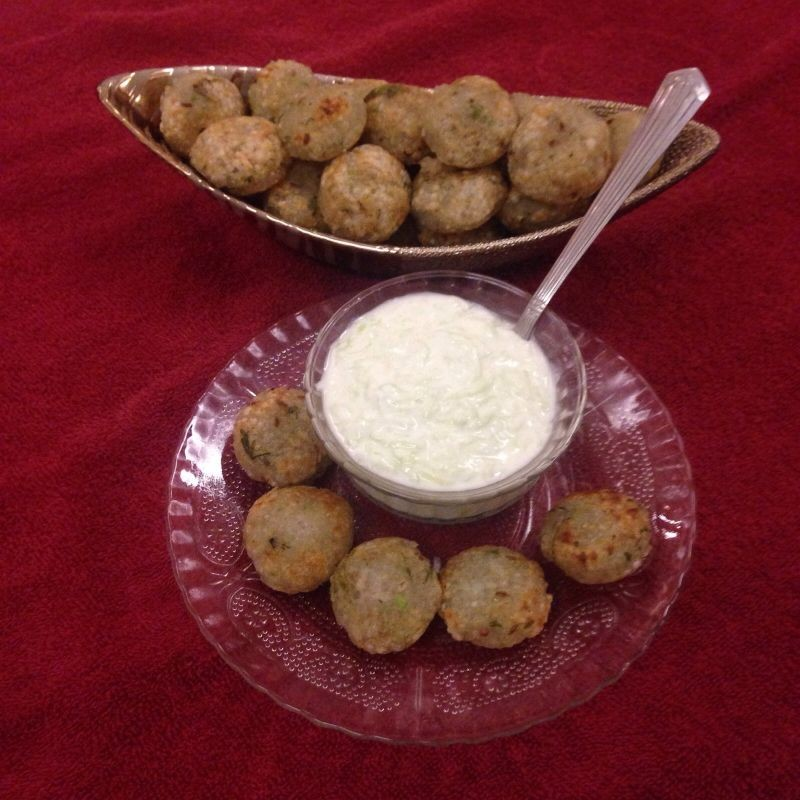 Photo of Guilt Free Sabudana Bites with Healthy Yoghurt Dip by Belinda Gaikwad at BetterButter