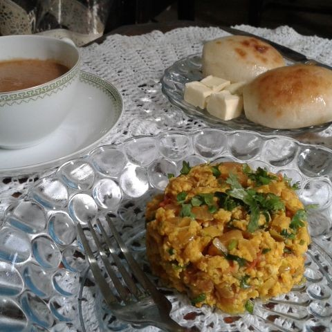 Photo of Akhuri -Traditional Parsi Breakfast by Chalet Wadia at BetterButter
