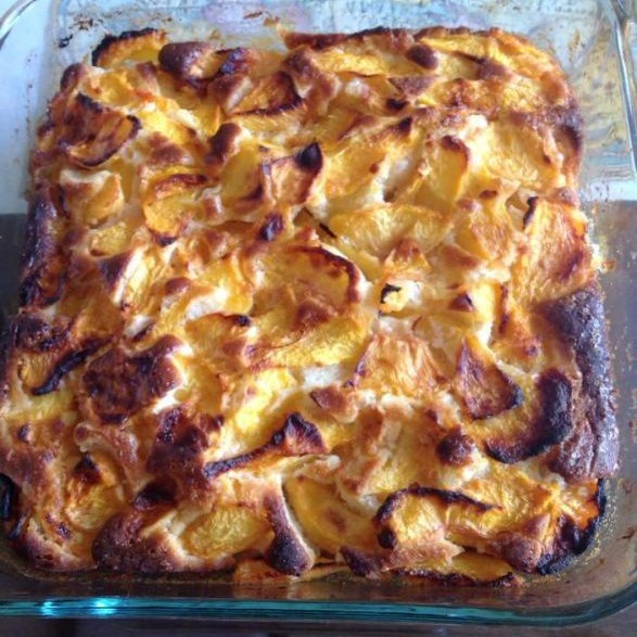 Photo of Simple Peach Cobbler by Deviyani Srivastava at BetterButter